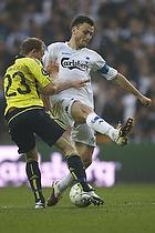 Michael Krohn-Dehli (Br�ndby IF), William Kvist, anf�rer (FC K�benhavn)