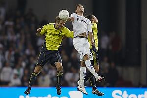 Remco van der Schaaf (Br�ndby IF), Claudemir (FC K�benhavn)