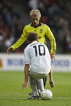 Daniel Wass (Br�ndby IF), Jesper Gr�nkj�r (FC K�benhavn)