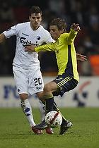 Jens Larsen (Br�ndby IF), Martin Vingaard (FC K�benhavn)