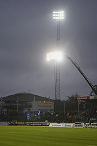 Ekstra lys p� Lyngby Stadion