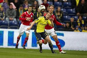 Michael KrohnDehli (Br�ndby IF), Martin Svensson (Silkeborg IF)