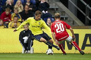 Jens Larsen (Br�ndby IF), Frank Hansen (Silkeborg IF)