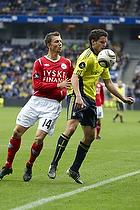 Jan Kristiansen (Br�ndby IF), Dennis Flinta (Silkeborg IF)