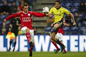 Jan Kristiansen (Br�ndby IF), Jim Larsen (Silkeborg IF)