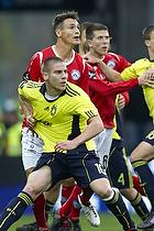 Thomas Hansen (Silkeborg IF), Martin Bernburg (Br�ndby IF)
