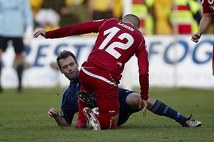 Rawez Lawan (FC Nordsj�lland), Thomas Rasmussen (Br�ndby IF)