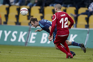 Thomas Rasmussen (Br�ndby IF), Rawez Lawan (FC Nordsj�lland)