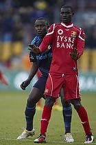 Enock Kofi Adu (FC Nordsj�lland), Paul Jatta (Br�ndby IF)