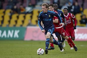 Michael Krohn-Dehli (Br�ndby IF), S�ren Christensen (FC Nordsj�lland)