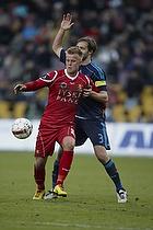 Max von Schlebr�gge (Br�ndby IF), Christian Gytkj�r (FC Nordsj�lland)