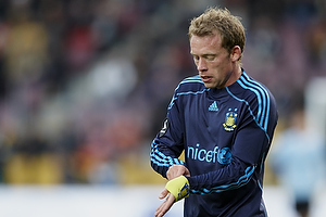 Michael Krohn-Dehli, anf�rer (Br�ndby IF) tager anf�rerbindet p�