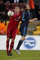 Andreas Bjelland (FC Nordsj�lland), Brent McGrath (Br�ndby IF)