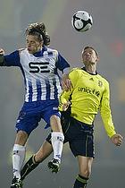 Jan Frederiksen (Br�ndby IF), Jesper Lange (Esbjerg fB)