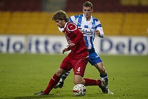 Johan Absalonsen (Ob), Henrik Kildentoft (FC Nordsj�lland)