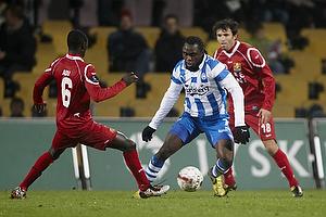 Peter Utaka (Ob), Enock Kofi Adu (FC Nordsj�lland)