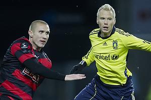Martin Albrechtsen (FC Midtjylland), Alexander Farnerud (Br�ndby IF)