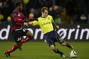 Thomas Rasmussen (Br�ndby IF), Sylvester Igboun (FC Midtjylland)