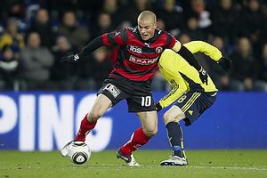 Mikkel Thygesen (FC Midtjylland), Mikael Nilsson (Br�ndby IF)