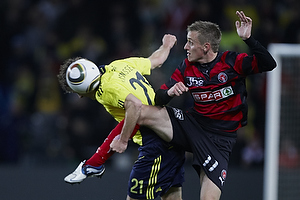 Thomas Rasmussen (Br�ndby IF), Danny Olsen (FC Midtjylland)