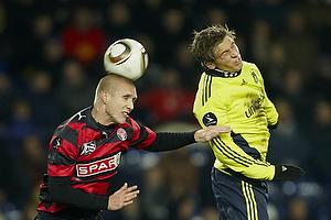 Martin Albrechtsen (FC Midtjylland), Jens Larsen (Br�ndby IF)