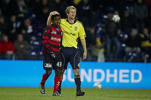Izunna Uzochukwu (FC Midtjylland), Remco van der Schaaf (Br�ndby IF)