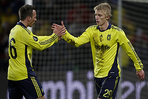 Daniel Wass (Br�ndby IF), Mike Jensen (Br�ndby IF)