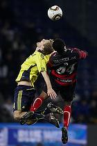 Remco van der Schaaf (Br�ndby IF), Sylvester Igboun (FC Midtjylland)