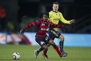 Mike Jensen (Br�ndby IF), Izunna Uzochukwu (FC Midtjylland)