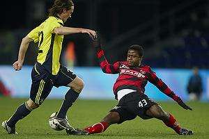 Izunna Uzochukwu (FC Midtjylland), Brent McGrath (Br�ndby IF)