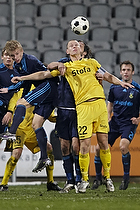 Daniel Wass (Br�ndby IF), Andreas Augustsson (AC Horsens)