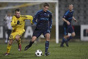 Jens Larsen (Br�ndby IF), Martin Spelmann (AC Horsens)