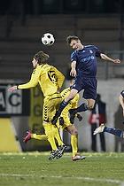 Thomas Rasmussen (Br�ndby IF), Lasse Kryger (AC Horsens)