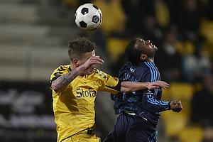 Ousman Jallow (Br�ndby IF), Martin Spelmann (AC Horsens)