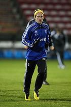 Michael Krohn-Dehli (Br�ndby IF) med hue