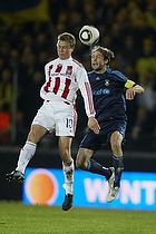 Max von Schlebr�gge, anf�rer (Br�ndby IF), Jeppe Curth (Aab)