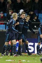 Nicolaj Agger (Br�ndby IF), Alexander Farnerud (Br�ndby IF), Daniel Wass (Br�ndby IF)