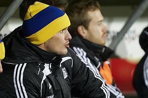 Jan Kristiansen (Br�ndby IF) med hue