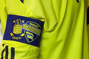 Anf�rerbindet med logoerne for Br�ndby IF og Sydsiden
