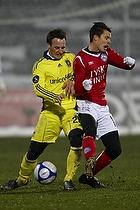 Mike Jensen (Br�ndby IF), Jesper Bech (Silkeborg IF)