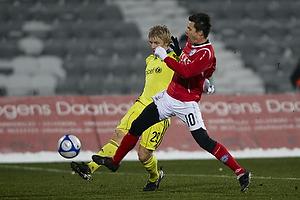 Daniel Wass (Br�ndby IF), Jesper Bech (Silkeborg IF)