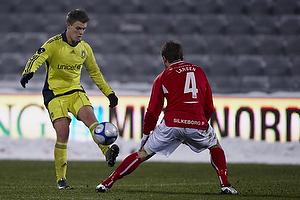 Nicolaj Agger (Br�ndby IF), Jim Larsen (Silkeborg IF)