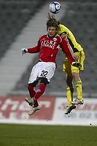 Max von Schlebr�gge, anf�rer (Br�ndby IF), Martin Svensson (Silkeborg IF)