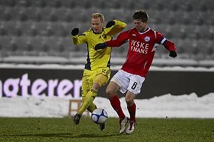 Alexander Farnerud (Br�ndby IF), Martin �rnskov (Silkeborg IF)