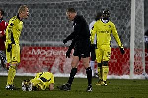Michael Svendsen, dommer, Alexander Farnerud (Br�ndby IF)