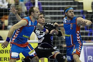 Lars J�rgensen, forsvar (AG K�benhavn), Rasmus Jensen, angreb (Fredericia HK Elite), Mikkel Hansen, forsvar (AG K�benhavn)