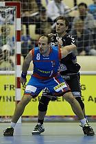 Lars J�rgensen, forsvar (AG K�benhavn), Rasmus Jensen, angreb (Fredericia HK Elite)
