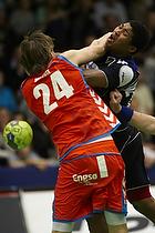 Mikkel Hansen, forsvar (AG K�benhavn), Mads Larsen, angreb (Nordsj�lland H�ndbold)