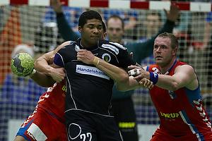 Mads Larsen, angreb (Nordsj�lland H�ndbold), Joachim Boldsen, forsvar (AG K�benhavn)