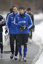 Mikael Nilsson (Br�ndby IF), Max von Schlebr�gge (Br�ndby IF)